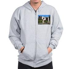 horse gypsy vanner Zip Hoodie