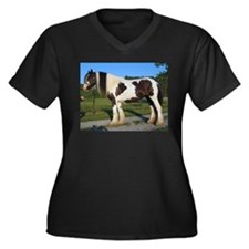horse gypsy vanner Plus Size T-Shirt