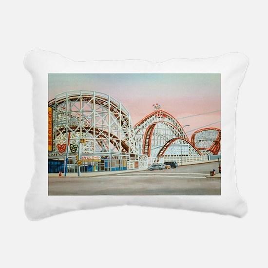 Funny Brooklyn Rectangular Canvas Pillow