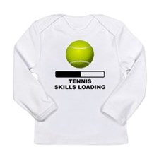 Tennis Skills Loading Long Sleeve T-Shirt