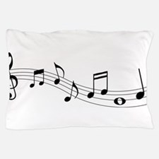 Music Notes Pillow Case