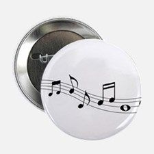 """Music Notes 2.25"""" Button (10 pack)"""