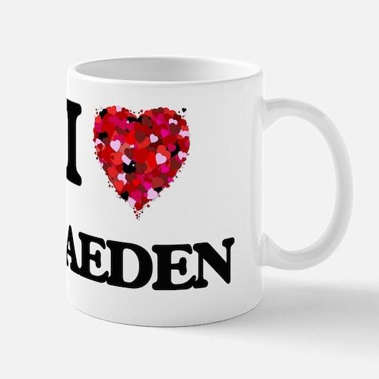 I Love Kaeden Mug