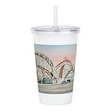 Cute Amusement parks Acrylic Double-wall Tumbler