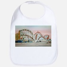 Cute Amusement parks Bib