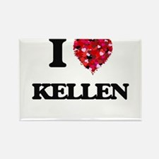 I Love Kellen Magnets