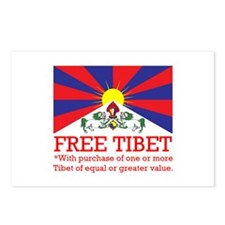 Free Tibet With Purchase Postcards (Package of 8)