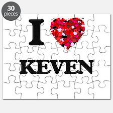 I Love Keven Puzzle