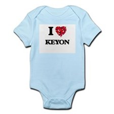 I Love Keyon Body Suit