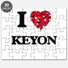 I Love Keyon Puzzle