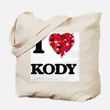 I Love Kody Tote Bag