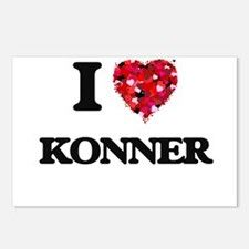 I Love Konner Postcards (Package of 8)