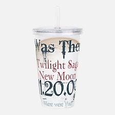 New Moon 11-20-09 I Wa Acrylic Double-wall Tumbler