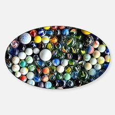 Unique Marbles Sticker (Oval)