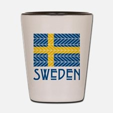 Chevron Sweden Shot Glass
