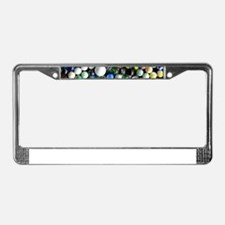 Cute Marbles License Plate Frame