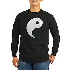 Yang - one of a pair Long Sleeve T-Shirt