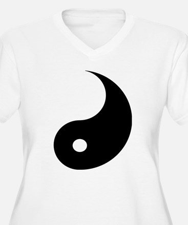 Yin - one of a pair Plus Size T-Shirt