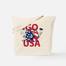 Go USA Womens Soccer Tote Bag