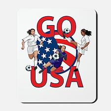 Go USA Womens Soccer Mousepad
