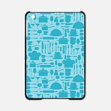 Cozy Retro Kitchen - Aqua Blue iPad Mini Case