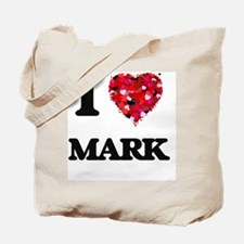I Love Mark Tote Bag