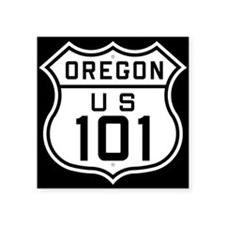 Oregon Us 101 Sticker