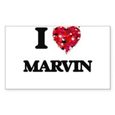 I Love Marvin Decal