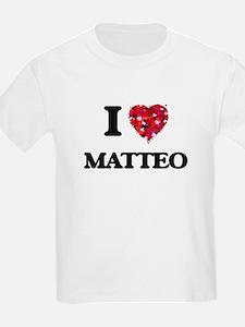 I Love Matteo T-Shirt