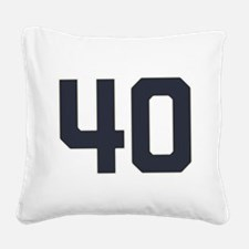 40 40th Birthday 1975 1940 75 Square Canvas Pillow