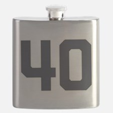 40 40th Birthday 1975 1940 75 Years Old Flask