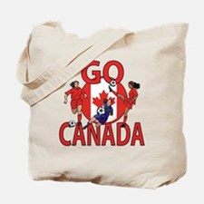 Go Canada Womens soccer 2015 Tote Bag