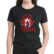 Go Canada Womens soccer 2015 Tee