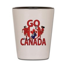 Go Canada Womens soccer 2015 Shot Glass