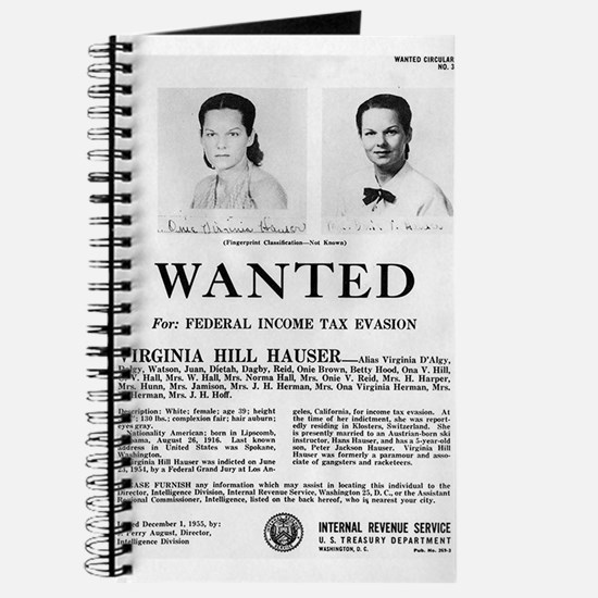 Virginia Hill Wanted Journal