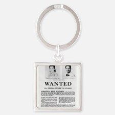 Virginia Hill Wanted Keychains