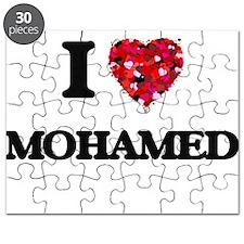 I Love Mohamed Puzzle