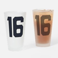 16 16th Sweet 16 Years Old Drinking Glass