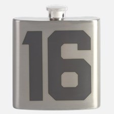 16 16th Sweet 16 Years Old Flask