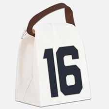 16 16th Sweet 16 Years Old Canvas Lunch Bag