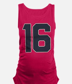 16 16th Sweet 16 Years Old Maternity Tank Top