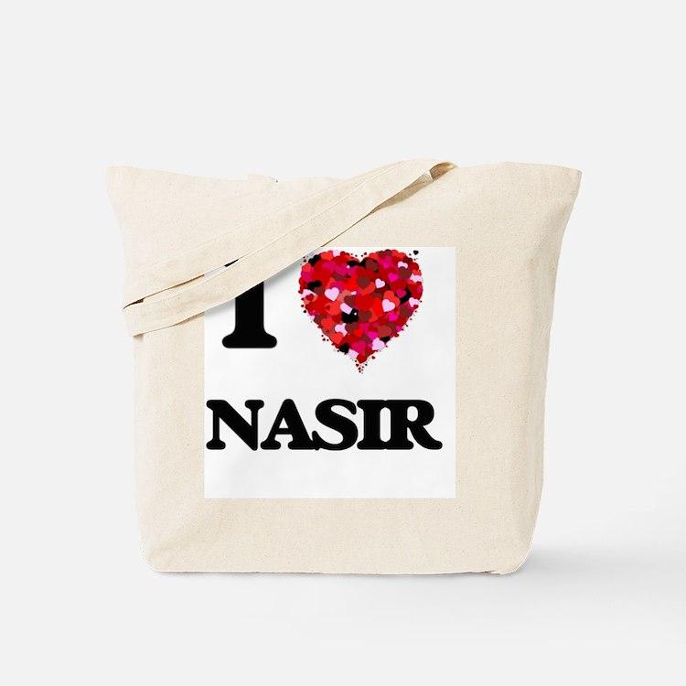 I Love Nasir Tote Bag