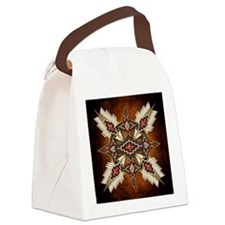 Funny Native Canvas Lunch Bag