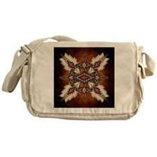 Cute Beading Messenger Bag