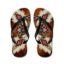 Cute Native american Flip Flops