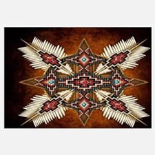 Cute American indian Wall Art