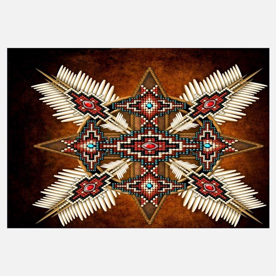 Unique Native american Wall Art