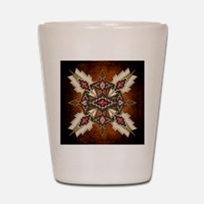 Cute American indian Shot Glass