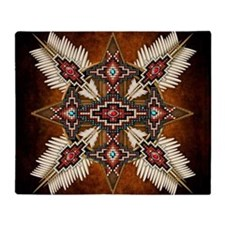 Cute Indian medicine Throw Blanket