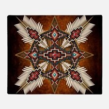 Cute Native america Throw Blanket